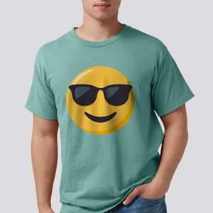 Sunglasses Emoji Mens Comfort Colors Shirt