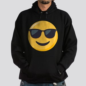 Sunglasses Emoji Hoodie (dark)