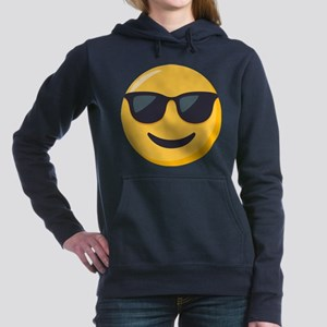 Sunglasses Emoji Women's Hooded Sweatshirt