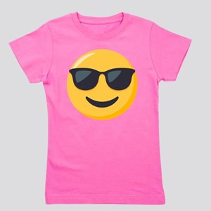 Sunglasses Emoji Girl's Tee
