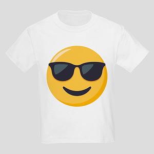 Sunglasses Emoji Kids Light T-Shirt