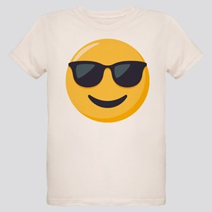 Sunglasses Emoji Organic Kids T-Shirt