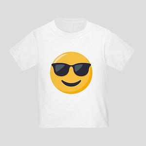 Sunglasses Emoji Toddler T-Shirt