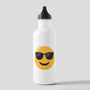 Sunglasses Emoji Stainless Water Bottle 1.0L