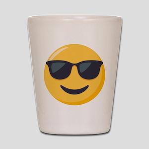 Sunglasses Emoji Shot Glass