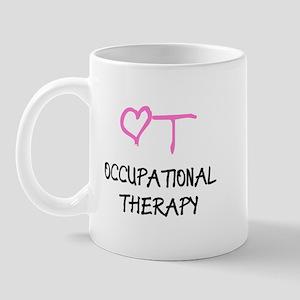 OT Pink Heart  Mug