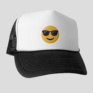Sunglasses Emoji Trucker Hat