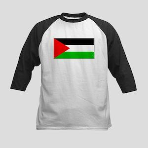 Palestinian Blank Flag Kids Baseball Jersey