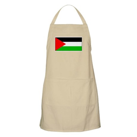 Palestinian Blank Flag BBQ Apron