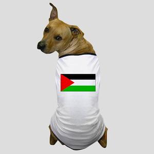 Palestinian Blank Flag Dog T-Shirt