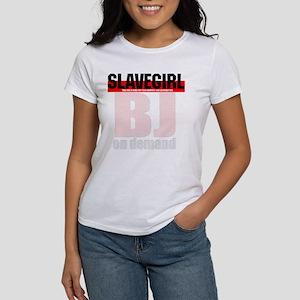 BJ on demand. Women's T-Shirt