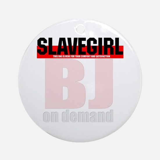 BJ on demand. Ornament (Round)