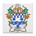 Phypoe Coat of Arms Tile Coaster