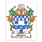 Phypoe Coat of Arms Small Poster