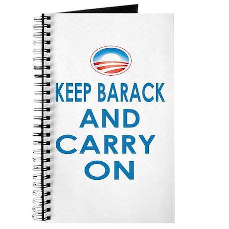 Keep Barack And Carry On Journal
