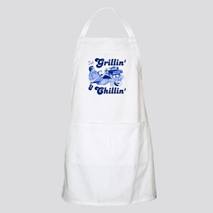 Just Grilling and Chilling Apron