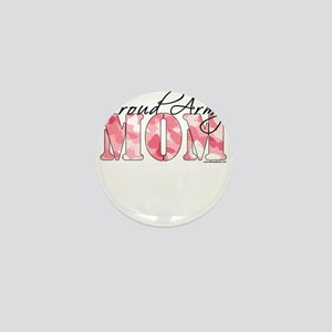 Proud Army Mom (Pink Butterfly Camo) Mini Button