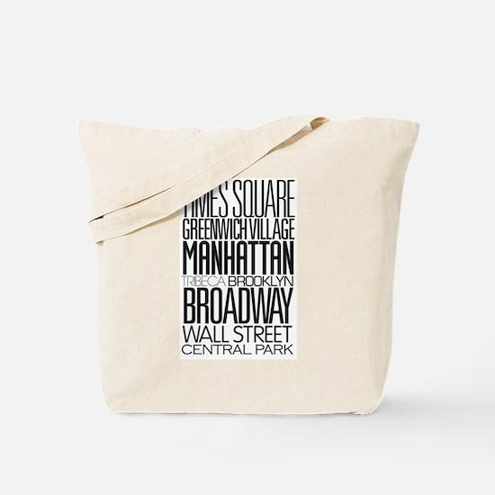 I Love NY Tote Bag