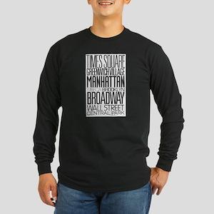 I Love NY Long Sleeve Dark T-Shirt