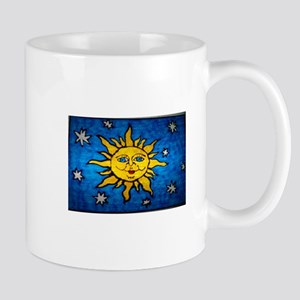 Stained Glass Sun Mug