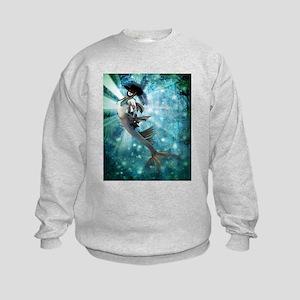Carnival Mermaid Kids Sweatshirt