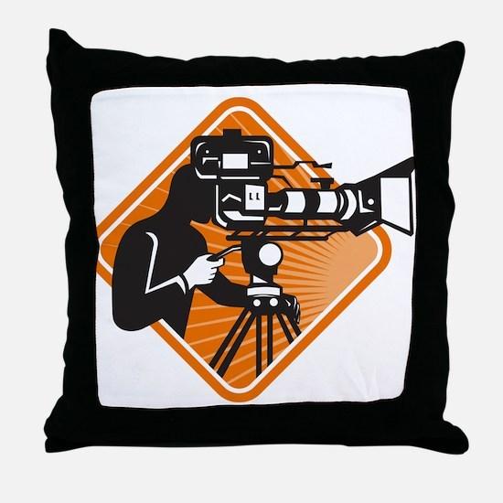 film crew cameraman shooting filming camera Throw