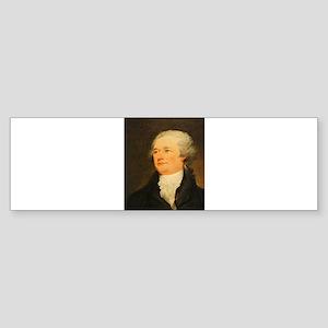 Founding Fathers: Alexander Hamilton Sticker (Bump