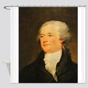 Founding Fathers: Alexander Hamilton Shower Curtai