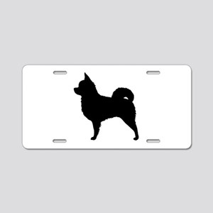 Long Hair Chihuahua Aluminum License Plate
