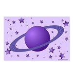 Planet with Stars Postcards (Package of 8)