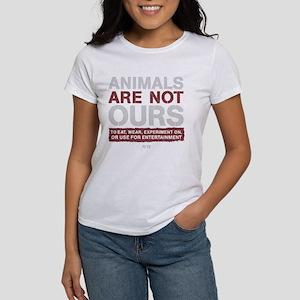 animalsarenotoursDARK T-Shirt