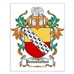 Pennefather Coat of Arms Small Poster