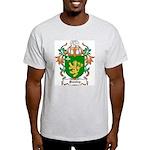 Peasley Coat of Arms Ash Grey T-Shirt