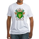 Peasley Coat of Arms Fitted T-Shirt