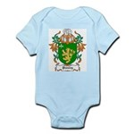 Peasley Coat of Arms Infant Creeper