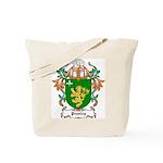 Peasley Coat of Arms Tote Bag