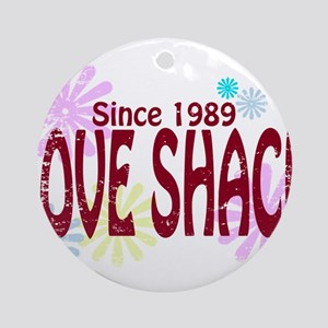 Love Shack Ornament (Round)