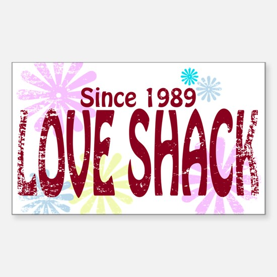Love Shack Sticker (Rectangle)