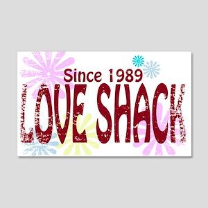 Love Shack 20x12 Wall Decal