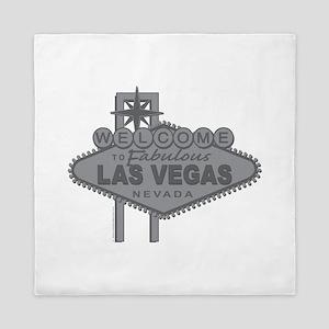 Welcome to Fabulous Las Vegas Queen Duvet