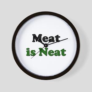 Meat is Neat Wall Clock