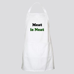 Meat is Neat BBQ Apron