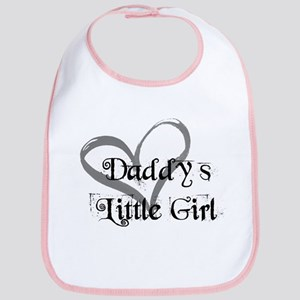 daddys little girl Bib