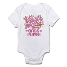 Bass Player (Worlds Best) Infant Bodysuit