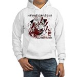 Don't worry it's not my blood - Hooded Sweatshirt
