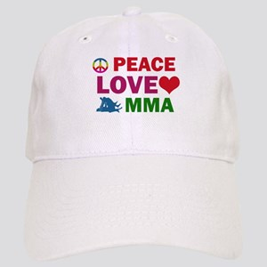 Peace Love MMA Designs Cap