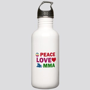 Peace Love MMA Designs Stainless Water Bottle 1.0L