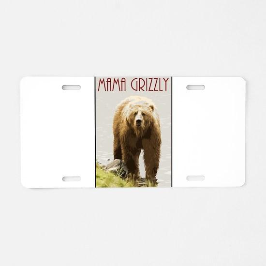 Cool Palin Aluminum License Plate