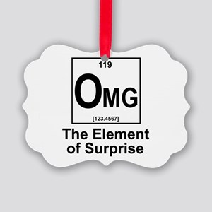 Element Omg Picture Ornament