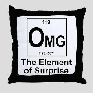 Element Omg Throw Pillow
